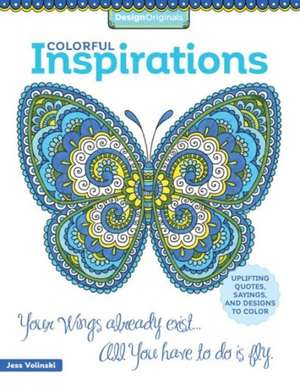 Colorful Inspirations Coloring Book