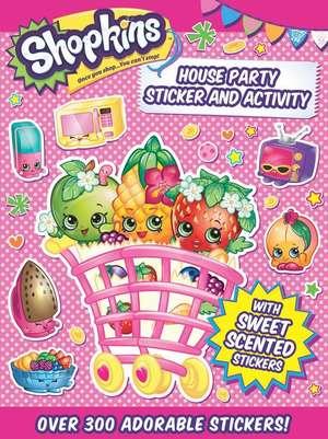Shopkins House Party de Little Bee Books