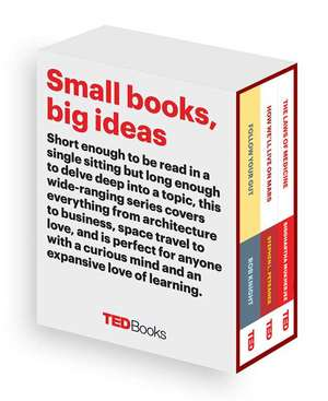 Ted Books Box Set:  Follow Your Gut, How We'll Live on Mars, and the Laws of Medicine de Rob Knight