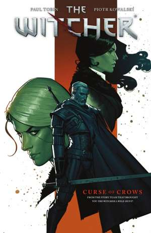 The Witcher Graphic Novel Curse of Crows