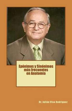 Eponimos y Sinonimos Mas Frecuentes En Anatomia de Dr Julian Viso Rodriguez