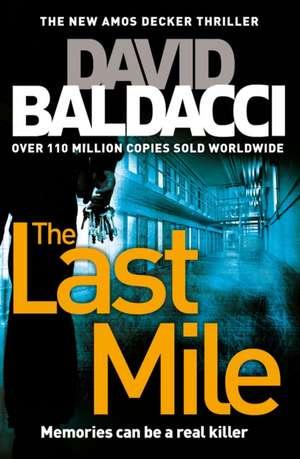 The Last Mile de David Baldacci