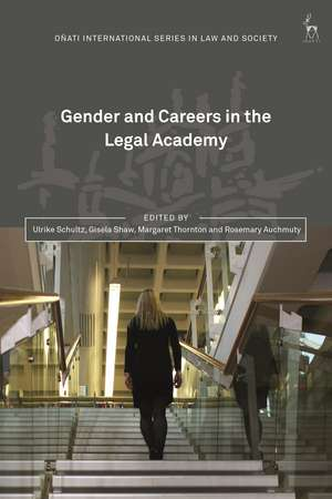 Gender and Careers in the Legal Academy de Ulrike Schultz