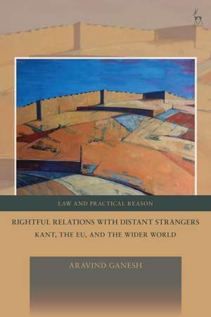 Rightful Relations with Distant Strangers: Kant, the EU, and the Wider World de Aravind Ganesh