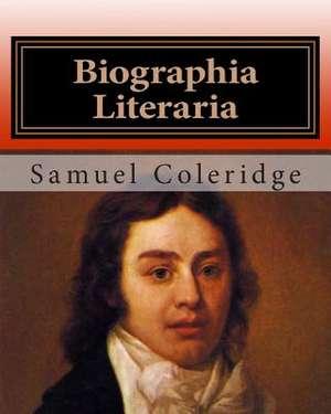 Biographia Literaria de MR Samuel Taylor Coleridge