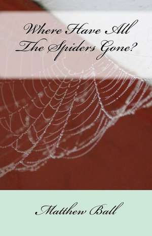 Where Have All the Spiders Gone? de MR Matthew Ball
