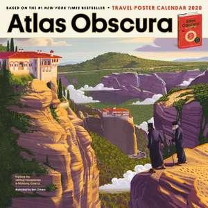 Atlas Obscura Wall Calendar 2020 de Atlas Obscura