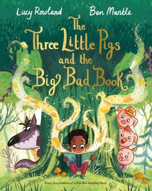 The Three Little Pigs and the Big Bad Book imagine