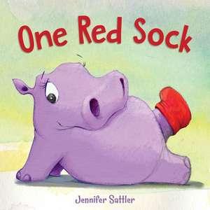 One Red Sock de Jennifer Sattler