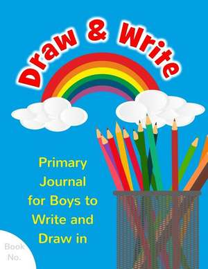 Draw & Write Primary Journal for Boys to Write and Draw in de Bestir Blanks