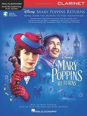 Mary Poppins Returns for Clarinet: Instrumental Play-Along Series de  Hal Leonard Corp