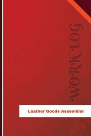 Leather Goods Assembler Work Log de Logs, Orange