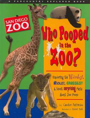 Who Pooped in the Zoo? San Diego Zoo