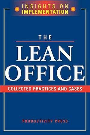 The Lean Office de Productivity Press Development Team