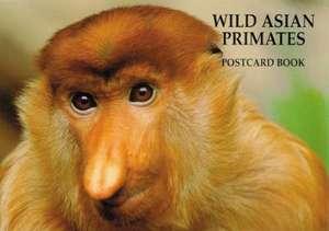 Wild Asian Primates Postcard Book