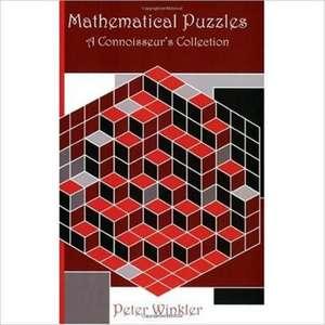 Mathematical Puzzles de Peter Winkler