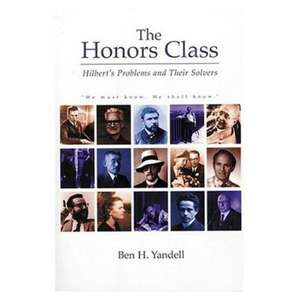 The Honors Class imagine