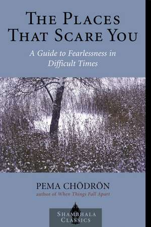 The Places That Scare You:  A Guide to Fearlessness in Difficult Times de Pema Chodron