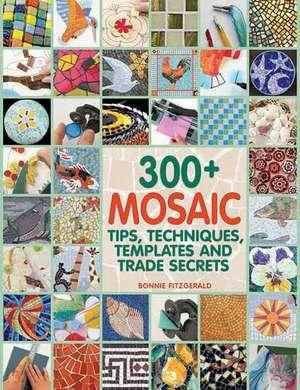 300+ Mosaic Tips, Techniques, Templates and Trade Secrets de Bonnie Fitzgerald