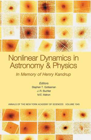 Nonlinear Dynamics in Astronomy and Physics: In Memory of Henry Kandrup, Volume 1045 de Stephen T. Gottesman