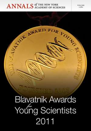 Blavatnik Awards for Young Scientists 2011, Volume 1260 de Editorial Staff of Annals of the New York Academy of Sciences