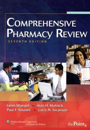 Comprehensive Pharmacy Review de Leon Shargel PhD, RPh