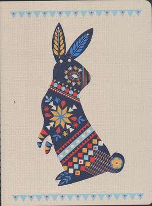 Beci Orpin Journal Folk Rabbit