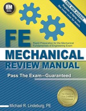FE Mechanical Review Manual de Michael R. Lindeburg