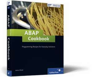 ABAP Cookbook de James Wood