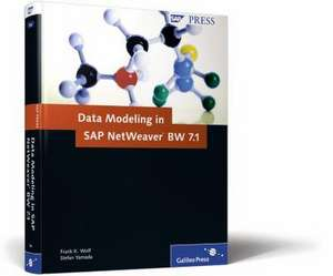 Data Modeling in SAP NetWeaver BW de Frank K. Wolf