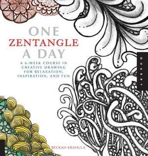 One Zentangle a Day de Beckah Krahula