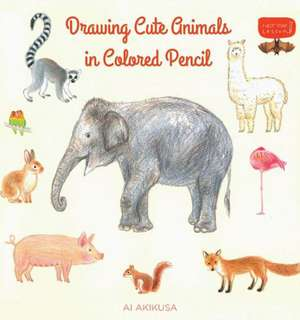 Drawing Cute Animals in Colored Pencil imagine