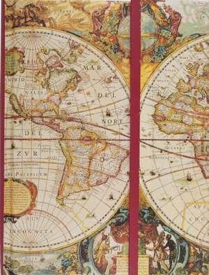 Old World Journal:  A Hot Little Message Pad [With Pencil] de Peter Pauper Press