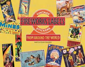 Fireworks Labels de Laughing Elephant Publishing