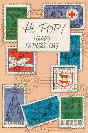 Father's Day Stamps - Greeting Card de Blue Lantern Publishing