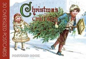 Christmas for Children:  Postcard Book de Laughing Elephant