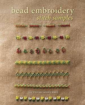 Bead Embroidery Stitch Samples de CRK Design
