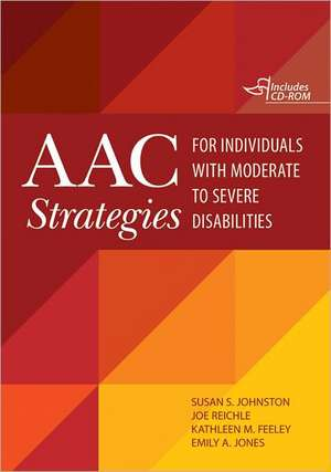 AAC Strategies for Individuals with Moderate to Severe Disabilities [With CDROM] imagine