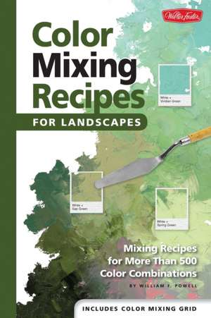 Color Mixing Recipes for Landscapes imagine