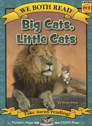 Big Cats, Little Cats de Sindy McKay
