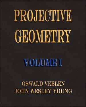 Projective Geometry - Volume I de Oswald Veblen