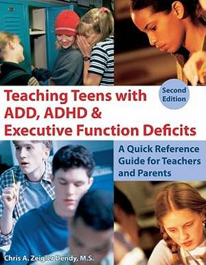 Teaching Teens with ADD, ADHD & Executive Function Deficits imagine