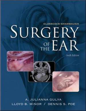 Glasscock-Shambaugh's Surgery of the Ear