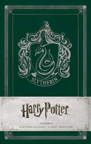 Slytherin Hardcover Ruled Journal de Warner Bros.