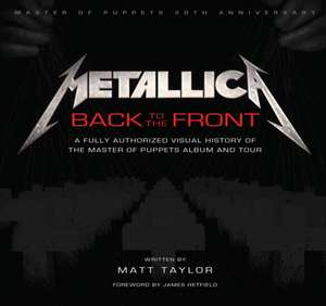 Metallica: Back to the Front de Various