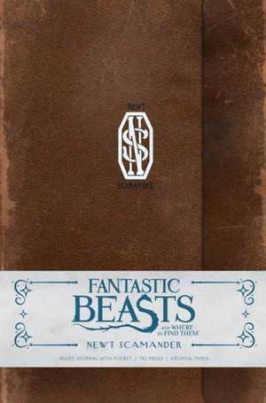 Fantastic Beasts and Where to Find Them Deluxe Hardcover Ruled Journal