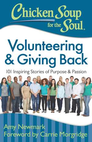Chicken Soup for the Soul: Volunteering & Giving Back: 101 Inspiring Stories of Purpose and Passion de Amy Newmark