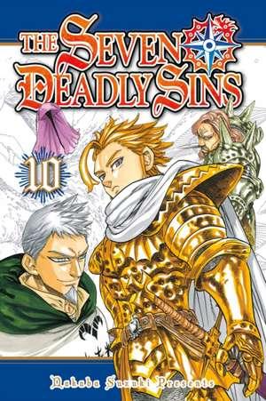 The Seven Deadly Sins 10 de Nakaba Suzuki