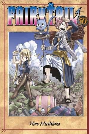 Fairy Tail 50 de Hiro Mashima