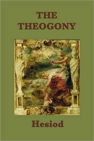 The Theogony de Hesiod Hesiod